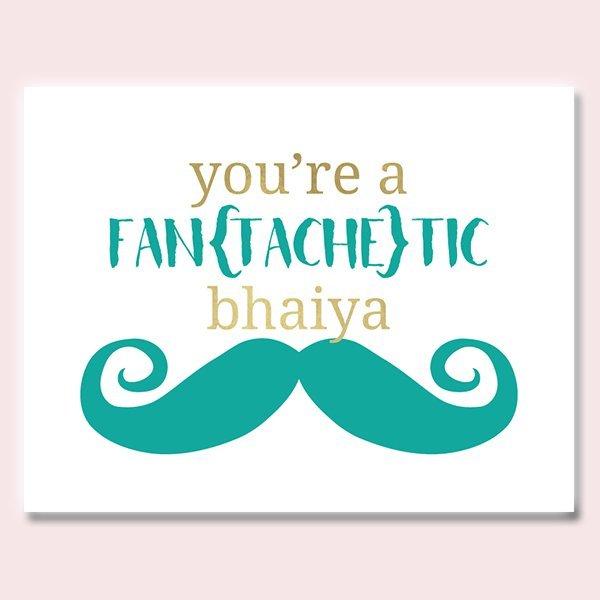 Fantachetic Bhaiya Rakhi Card