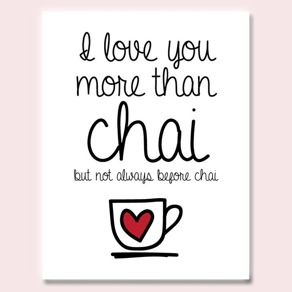 Chai card - Indian Greeting Cards - Love Cards