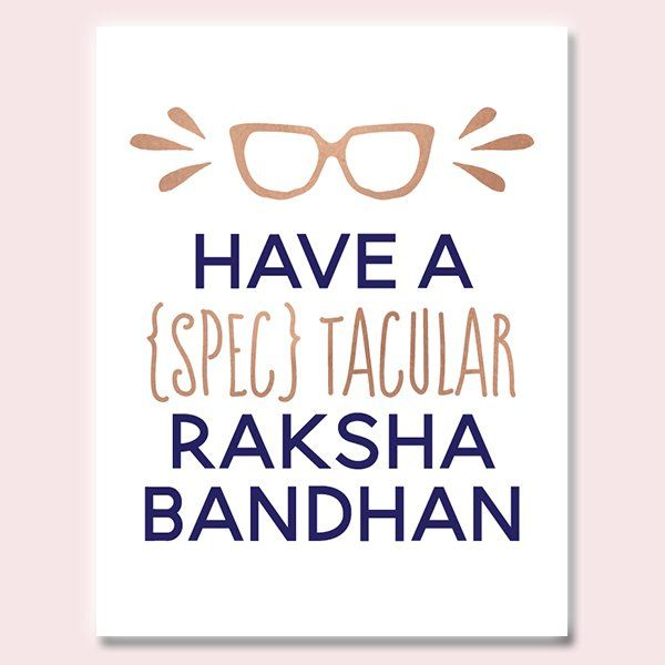 Spectacular Rakhi Card