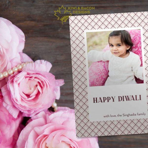 Diwali Photo Card - Pankho - Personalized DIY